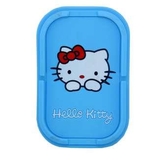 Hello Kitty Blue Anti Slip Mat And Phone Holder