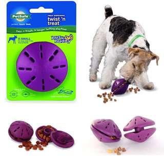 Brand New Petsafe  Busy Buddy Twist 'n Treat dispensing Dog toy XS
