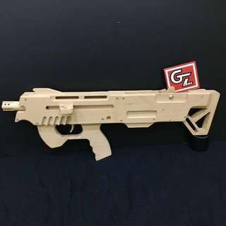 PDW Rubber Band Toy Gun Fully Automatic