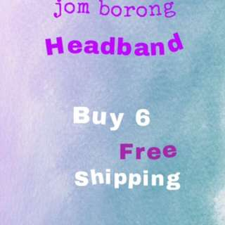 Borong headband