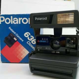 復刻版 Polaroid 寶麗來 636 即影即有相機