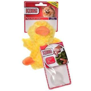 KONG Low Stuffing with removable squeaker SMALL duck dog and cat toy with FREE Replacement squeaker