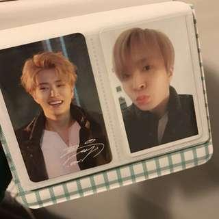 Got7 Youngjae Arrival cards