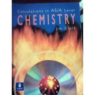 Calculations in AS / A level Chemistry by longman