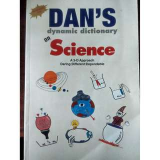 Dan's DYNAMIC dictionary on science