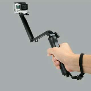 3 Ways selfie stick and tripod