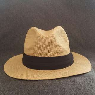 Summer Fedora Hat - cream