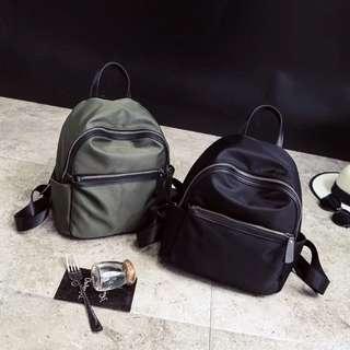 韓國時尚百搭牛津布尼龍 雙肩 後背包 旅行 媽媽包 小背包 可裝iPad 可開個人賣場免運