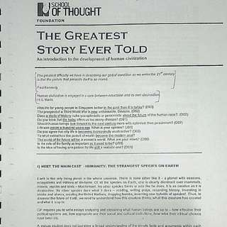 School of Thought GP notes