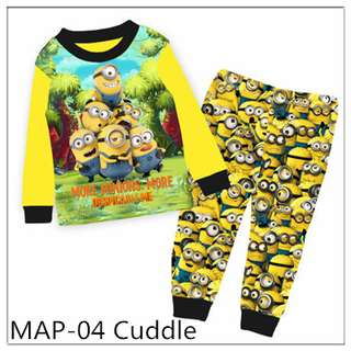 Minions Boy Pajamas MAP04