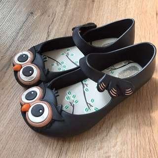 Mini Melissa owl shoes
