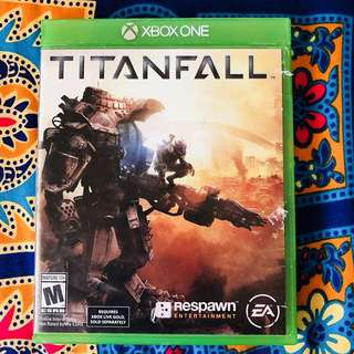 Titanfall game for Xbox one