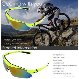 PRE-ORDER: Basecamp Professional Outdoor Cycling Sunglasses
