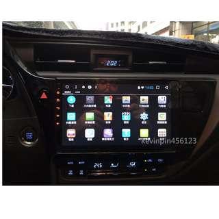 2017 11.5代Toyota Altis 安卓10吋超大螢幕,車上的安卓平板,上網、影片、音樂、導航全功能