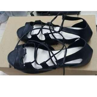 New Sepatu sendal VIMEMO ukuran 35 cantik (SALE!!!)