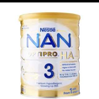 Buying NAN Optipro HA 3 ($30 each)