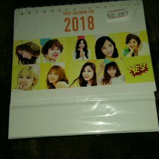 Yes 2018 calendar Twice(last stock)