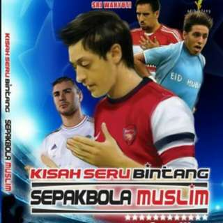 Buku Kisah Seru Bintang Sepak Bola Muslim