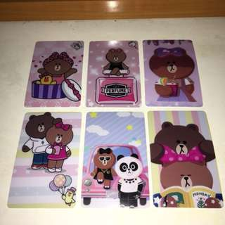 Line Friends Choco八達通卡貼