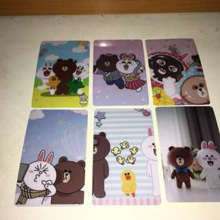 Line Friends Brown&Cony八達通卡貼