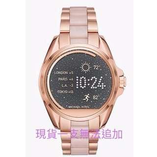現貨MK智慧型手錶玻塊金*1