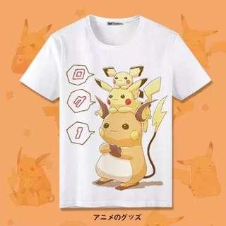 Pokemon [Pikachu Part 3] Short Sleeve & Long Sleeve T-shirts