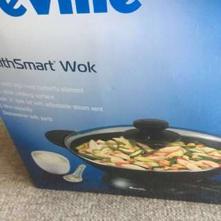 New WOT in box breville wok
