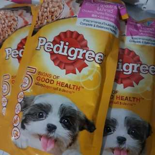 Pedigree for puppy