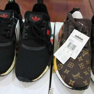 Adidas NMD R1 x LV x Supreme