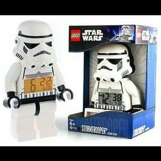 LEGO® Star Wars Stormtrooper Minifigure Clock