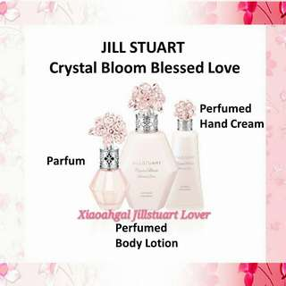 💟LIMITED EDITION💟◆DEC 2017: AUTHENTIC BRAND NEW FRESH IN BOX◆*RESTOCK MONTHLY* 30ml Jill Stuart CRYSTAL BLOOM BLESSED LOVE EDP PERFUME (FRESH & LATEST MANUFACTURED date=Active Ingredients) No Pet No Smoker Clean Hse