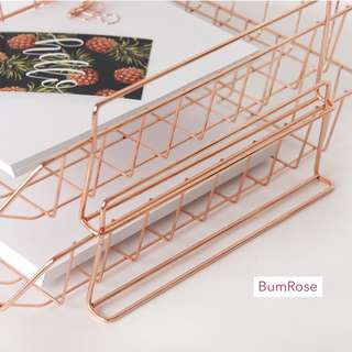 Rose Gold/ Copper paper Tray