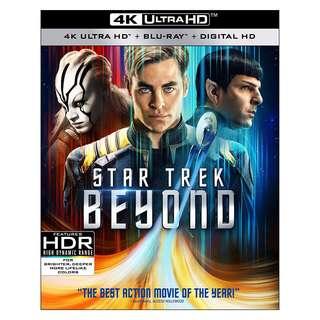 🆕 Star Trek Beyond 4K UHD + Blu Ray