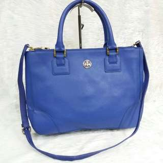 AUTHENTIC TORY BURCH HANDBAG MADE IN CHINA VERY GOOD CONDITION TINGGI 27CM X LEBAR 35CM RM3XX 📞Call/wsap (Min)http://www.wasap.my/60148363708