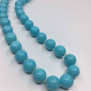 16mm Turquoise Shell Pearl Necklace