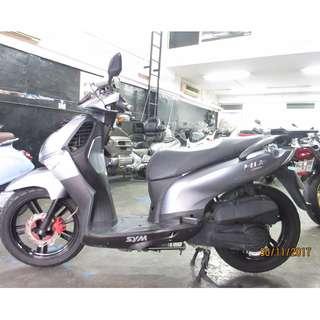 SYM  H2 2014 D/P $500 or $0 (Terms and conditions apply. Pls call 67468582 De Xing Motor Pte Ltd Blk 3006 Ubi Road 1 #01-356 S 408700.