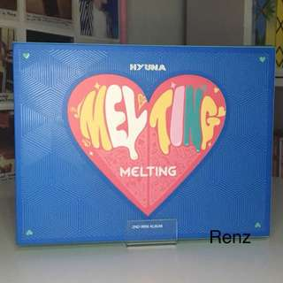 KPOP HYUNA (Melting) Album