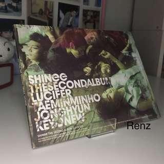 KPOP SHINEE (Lucifer) Album