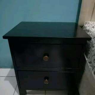 Meja Sudut & Meja samping kasur dari Kayu Jati Belanda