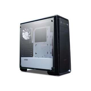 Techware Mid ATX, PSU Cover, 3 x Fans, Clear Tempered Glass