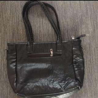 Tote bag black no brand