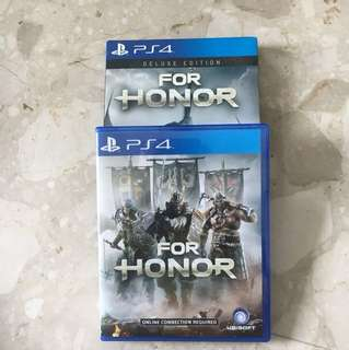FOR HONOR *deluxe exition* PS4