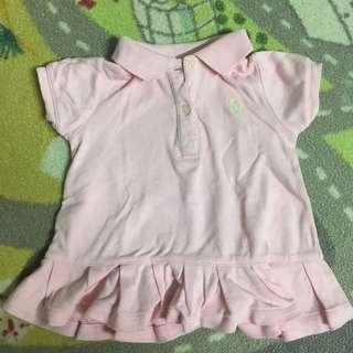 Ralph Lauren Pink Dress (6-9 Months)