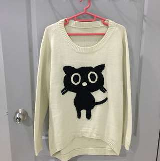 Knitted cat top (Suitable for cold weather)