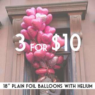 ‭[SALES] Heart Balloon With Helium