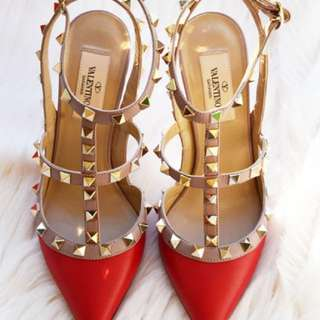 Valentino  Red Shoes Premium