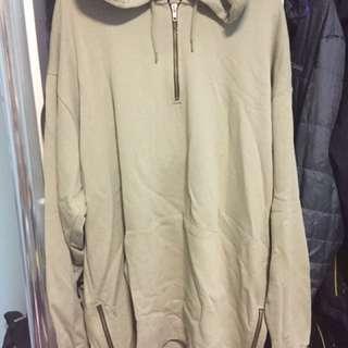 BRAND NEW ASOS side zip hoodie