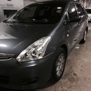 TOYOTA WISH 1.8A MPV 7 Seater For Rent