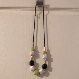 Poly-shape necklace