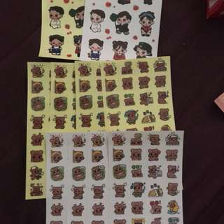 EXO Kai Fansite Stickers !